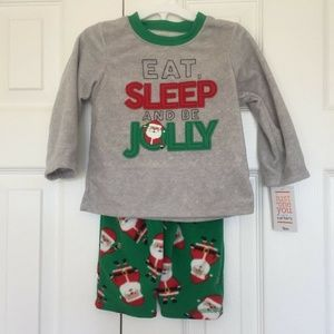 Just One You Carters Pajamas 18M 18 month Boy Gray